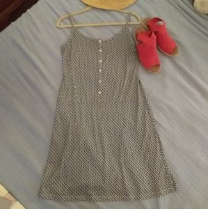Lolë drop waist knee length sun dress